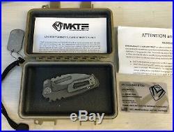Medford Knife Micro Praetorian Titanium (Tumbled)