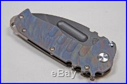 Medford Knife Praetorian T DP with D2 & Titanium Hndl (both sides Flamed!) (146)