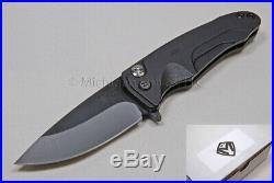 Medford Knife Smooth Criminal with S35-VN and AL handles (Black) (170)