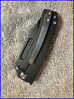 Medford Knife & Tool Dress Marauder PVD Handle S35VN