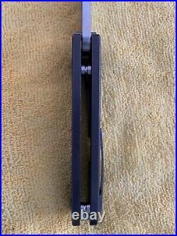 Medford Knife & Tool Midi Marauder Blue Ano