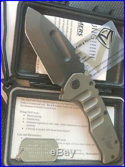 Medford Knives & Steel Flame Collab Special Edition Praetorian T Tanto Knife