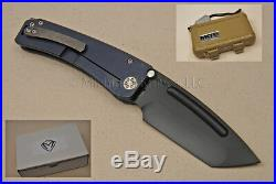 Medford Marauder-H Knife with CPM S35VN (PVD) & Titanium (Anodized Blue) (090)