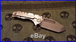 Medford Micro Praetorian Prototype #1 Thickness same as Praetorian Ti. 26 blade