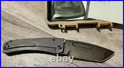 Medford Midi Marauder Monkey Edge MEFP Purple Anodized Titanium 3V Blade BNIB