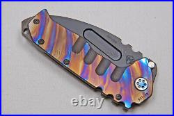 Medford Praetorian T Knife with S35-VN & Ti Handles with Ti Hdw (Flmd) (336)