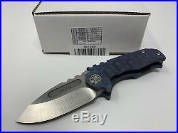 Medford Praetorian TI MICRO. 260 thick blade custom sculpted RARE Knives Tool