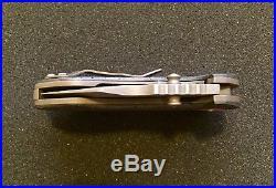 Michael Burch Burchtree Bladeworks PORKY Boeing CF Linerlock Folder