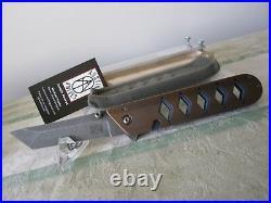 Michael austin austin knives maestro flipper made in bob terzuola's shop