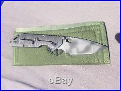 Mick Strider Custom Knife AR/GB FL/NM