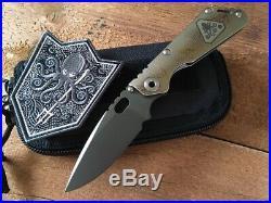Mick Strider Custom Knives MSC SnG Prometheus Design Werx Edition PDW NEW