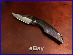 Mick Strider Custom SJ75 Framelock Knife Anodized Titanium (4 Blade)