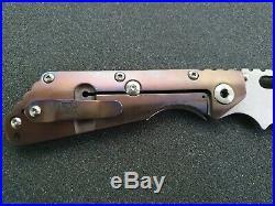 Mick Strider Custom Xl Sng Cc Custom Folding Knife