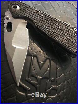 Mick Strider SnG 3V Steel, Msc Groot Tanto 3v SnG, Strider Knives