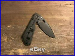 Mick Strider Stealth SMF (latest), Strider Knives, Very RARE Limited Edition Run