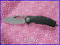 Microtech Anthony Marfione Custom Knives MINI MATRIX Flipper Knife