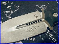 Microtech Borka SBD Tactical Dagger Stonewashed M390 (201-10) BRAND NEW! RARE