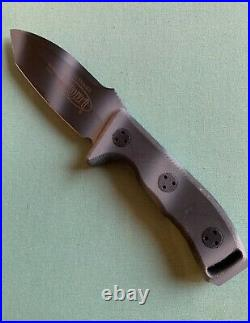 Microtech Currahee Mint Condition Dated 10/2006 S/n 00149 Camo Finish