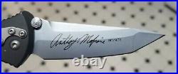 Microtech M-SOCOM knife Anthony Marfione Signature Series