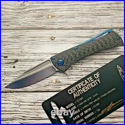 Microtech Marfione Closer extremely rare Folding Knife Elmax/CF
