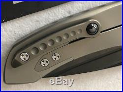 Microtech Marfione Custom Knife Anax TAD Gear Folder Bronze Body DLC Blade