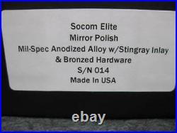 Microtech Marfione Custom SOCOM Elite manual Mirrored / Ray inserts