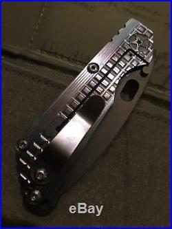 Microtech Mick Strider Duane Dwyer Rick Hinderer Titanium Knife