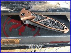 Microtech Socom Elite T/E Tan standard Manual Folder Pocket Knife 161-1 TA