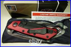 Microtech Strider D. O. C. Flipper knife Red DLC DOC