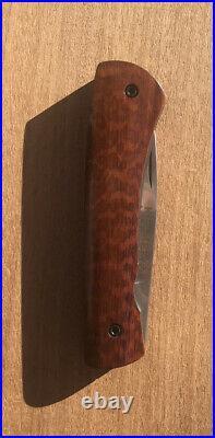 Mint Robert Bob Kramer Limited Custom Mini Folder Picnic Pocket Knife Snakewood