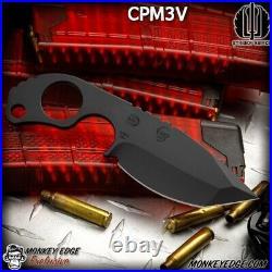 Monkey Edge Strider Knives SLCC DUB Black CPM-3V