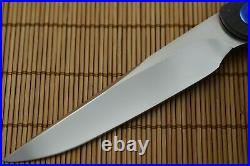 NEW Matthew Lerch SCAMP, Liner-Lock Flipper, Zirconium Scales, 154 CPM Blade