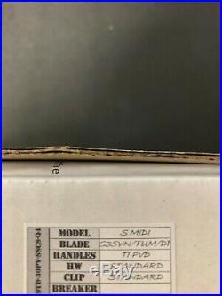 NEW-Medford Knife & Tool Slim Midi Marauder Knife S35VN Blade! $CHEAP$