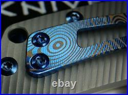 New Horizon Reate Blue Anodized Mokuti Titanium Marbled Carbon Fiber M-390 $795