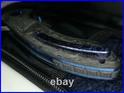 New Massdrop by Eric Ochs Orca Blue Mokuti Titanium Marbled Carbon Fiber $765.00
