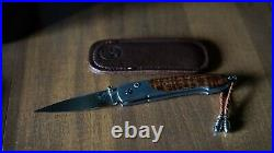 New William Henry Limited Edition Knife B10 Curly Maple