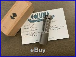 Okluma Ti Tiny DC1 Flashlight like hanko barrel