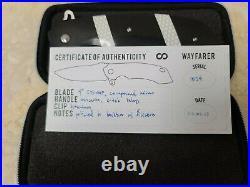 Olamic Cutlery Wayfarer Custom BNIB