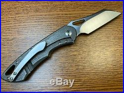 Olamic Cutlery Whippersnapper (2.8 Satin) CPM-20CV Titanium Handle And Hardware