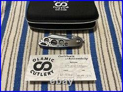 Olamic Cutlery Whippersnapper Acid Rain and Entropic Finish