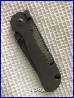 Pat Crawford Fram Lock Folder Knife