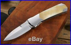 Perfection! Scott Sawby Kingfisher Art Knife Original Custom Folding Knife