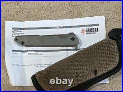 Peter Rassenti custom knife Keystone