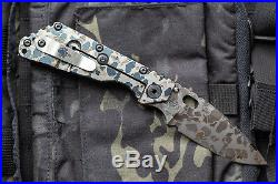 Prometheus Design Werx SPD x M. Strider SMF AL Frogskin Knife NEW PDW
