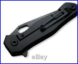 QUARTERMASTER KNIVES/BLACKWOLF Mr. ROPER EVICTION Edition. Titanium Limo Tint