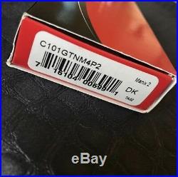 RARE EARLY GRIMSMO CUSTOM ALUMINUM SCALES MANIX2 KNIFE SPYDERCO M4 STEEL With BOX