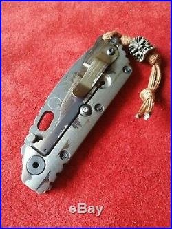 RARE Strider Knives Starlingear SMF Wolfman Collaboration Package S110V