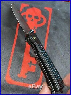 Ramon Chaves Custom Knives RADIOACTIVE Redencion 228 Custom Folder V2-2nd Run