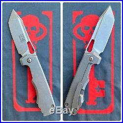Ramon Chaves JB Stout Megalodon Folding Flipper Knife Collab MEG 325