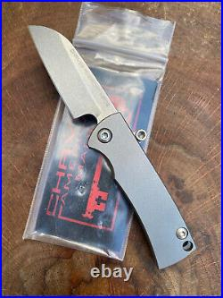Ramon Chaves Knives American Made Knives CAMK Friction Folder Pocket Knife